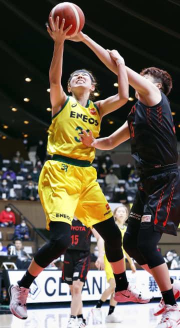 バスケ、ENEOSが女子8連覇 全日本選手権2チーム目 画像1