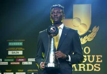 Jリーグ、オルンガが最優秀選手 年間表彰式、初の受賞 画像1