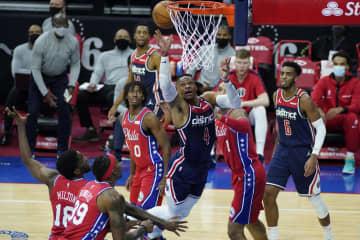 NBA、ウィザーズは初戦黒星 八村欠場、渡辺は出番なし 画像1
