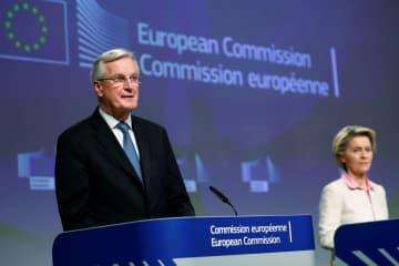 EUと英、無関税貿易維持で合意 円滑通商、自由な移動終了 画像1
