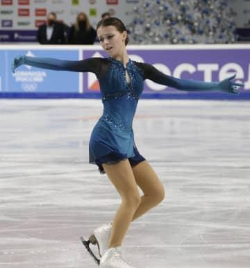 シェルバコワがSP首位 フィギュアのロシア選手権 画像1