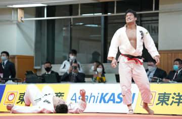 全日本柔道、羽賀龍之介が初優勝 決勝で太田彪雅を破る 画像1