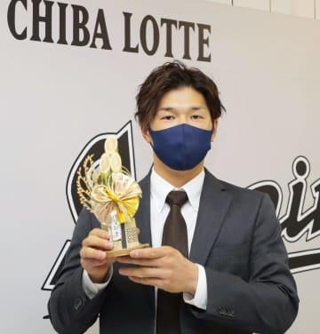 ロッテの中村奨吾は6700万円 来季から主将に 画像1