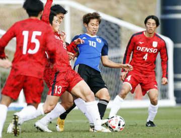 サッカーU―23、練習試合勝利 4―0、候補合宿終了 画像1