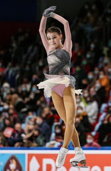 女子はシェルバコワがV3 フィギュアのロシア選手権 画像1