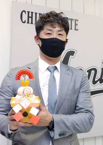 ロッテ、清田は2年契約 来季は6千万円 画像1