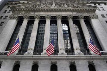 NY株反落、68ドル安 現金給付増額への期待後退 画像1