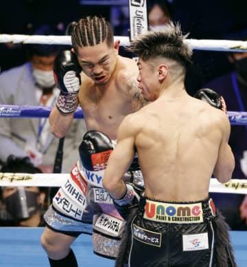 ボクシング井岡、8回TKO防衛 田中は4階級制覇ならず 画像1
