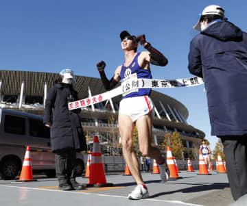 元旦競歩、男子は住所が優勝 女子は五輪代表の岡田がV 画像1