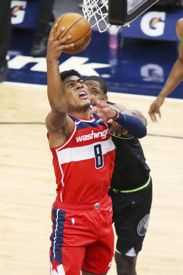 NBA、八村塁が11得点 ウィザーズが初勝利 画像1