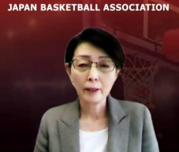 三屋裕子バスケ協会会長が抱負 何とか選手の思いをかなえたい 画像1
