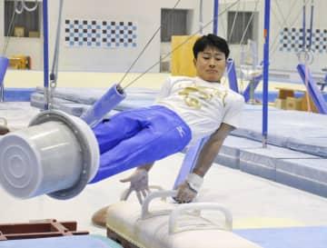 体操の北園「五輪で金メダルを」 18歳のホープが練習公開 画像1