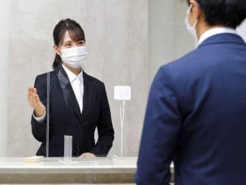 仕切りあっても会話しやすく 神戸の企業が小型拡声器 画像1