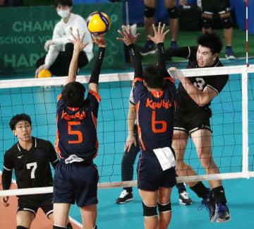 バレー、東福岡や東龍など4強 全日本高校選手権第3日 画像1