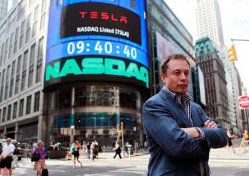 テスラのマスク氏、富豪世界一に 株価急騰、環境問題追い風に 画像1