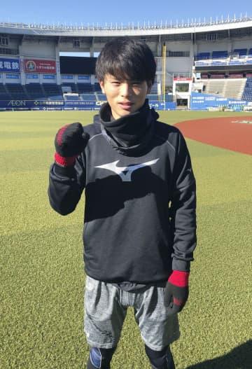 ロッテの和田、30盗塁目標 4年目の目標掲げる 画像1