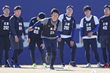 中日が新人合同練習開始 高橋宏斗「楽しみだった」 画像1