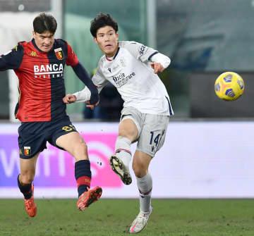ボローニャの冨安はフル出場 イタリア1部リーグ 画像1
