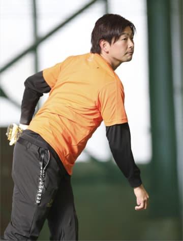 広島・大瀬良、右肘痛から復活へ 「恩返し」の活躍期す 画像1