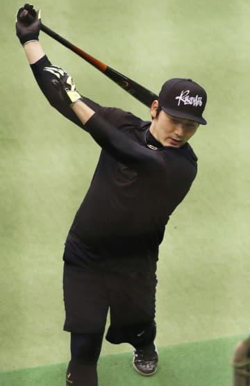 巨人の丸佳浩、筋力強化に重点 移籍3年目「出塁率を意識」 画像1