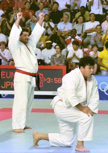 元柔道選手ハハレイシビリ氏死去 49歳、バルセロナ五輪「金」 画像1