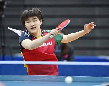 全日本卓球、ジュニア8強に大藤 最年少V狙う松島も 画像1