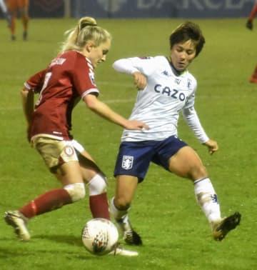 岩渕真奈、移籍後に初出場 イングランド・リーグ杯 画像1