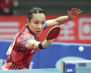 卓球女子は伊藤、石川が4強 全日本選手権、張本は敗れる 画像1