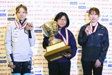 全日本ショート、渡辺啓太2連覇 女子は山名初V 画像1