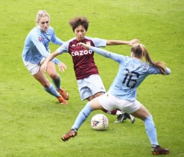 岩渕真奈がリーグ戦初出場 イングランド女子のアストンビラ 画像1