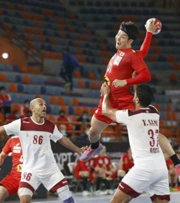 世界ハンド日本はカタールに惜敗 1次リーグ、まだ白星なし 画像1