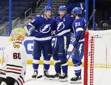 NHL、王者ライトニング2連勝 第1週が終了 画像1