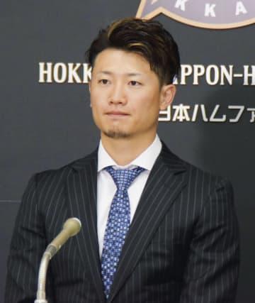 日本ハム西川「実力のなさ痛感」 米移籍実現せず契約更改 画像1