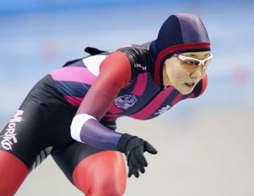 吉田雪乃が女子500で大会新 全国高校スケート開幕 画像1