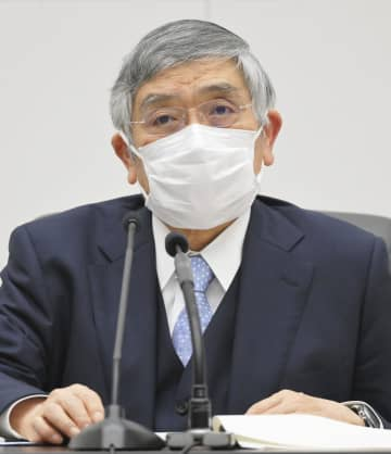 日銀総裁、デフレ再来を否定 21年度物価予想引き上げ 画像1