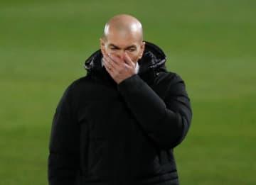 レアルのジダン監督、コロナ陽性 スペイン1部リーグ 画像1