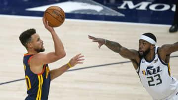 NBAのカリー、ミラー抜き2位 3点シュート、通算2562本に 画像1