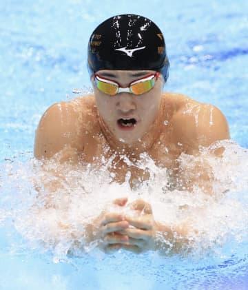 競泳、佐藤が好記録で200平V 北島康介杯最終日 画像1