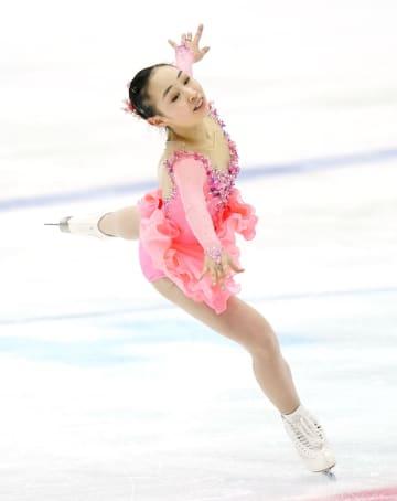 フィギュア女子、松生理乃が初V 全国高校スケート第4日 画像1
