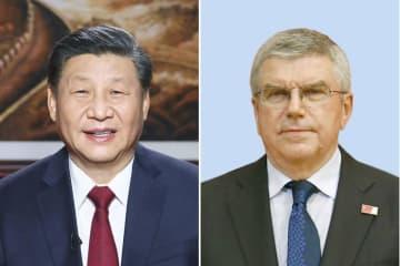 習氏、東京・北京五輪開催へ努力 IOC会長と電話会談 画像1