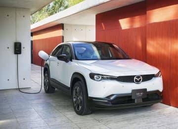 マツダ、初のEV発売 SUV「MX―30」 画像1