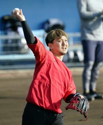 ロッテ田村、全試合出場を目指す 沖縄・石垣で練習公開 画像1