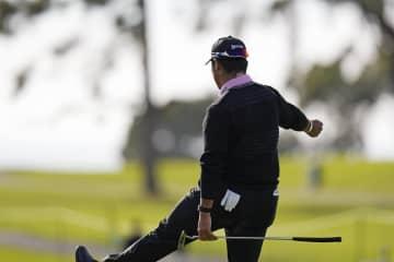 小平は69位、松山119位 米男子ゴルフ第1日 画像1