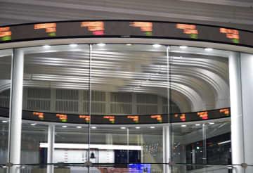 東証大幅続落、534円安 米市場混乱の影響を警戒 画像1
