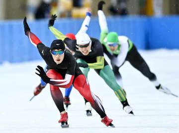 スピード500m、倉坪らが優勝 国体スケートIH、第3日 画像1