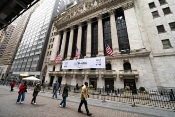 NY株反落、3万ドル割れ 620ドル安、投機に警戒感 画像1