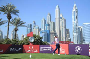 欧州ゴルフ、金谷は22位に後退 ドバイ・デザートC第3日 画像1