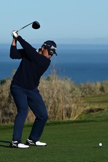 松山英樹、45位に後退 米男子ゴルフ第3日 画像1