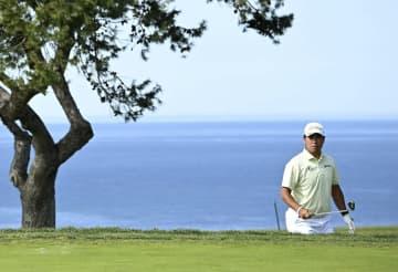 松山英樹、73で後退し53位 米男子ゴルフ、リード優勝 画像1