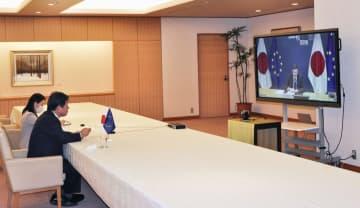日欧がデータ自由流通協議 茂木外相、合同委員会 画像1
